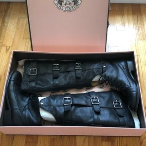 Juicy Couture Motorcycle Boots